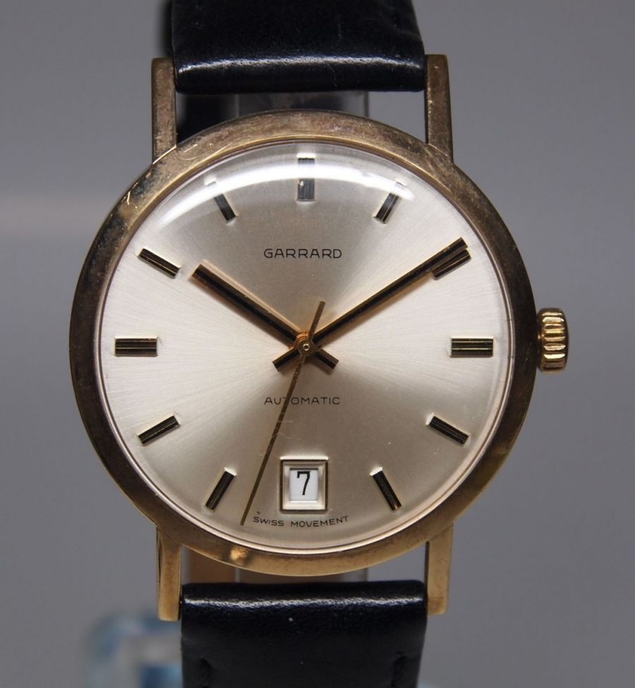 Garrard 9ct automatic