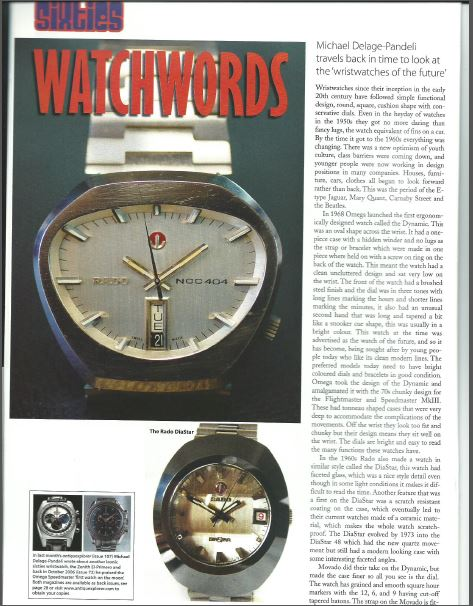 SIXTIES WATCHWORDS